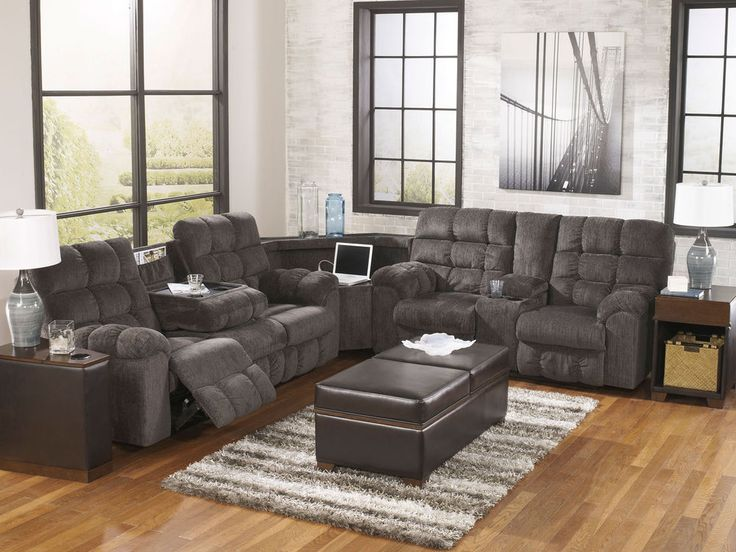 MARINO-3pcs MODERN GRAY CHENILLE RECLINING SOFA COUCH SECTIONAL SET LIVING  ROOM #Contemporary | sectionals | Pinterest | Gray, Reclining sofa and  Living ... - MARINO-3pcs MODERN GRAY CHENILLE RECLINING SOFA COUCH SECTIONAL