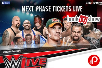 BookMyShow brings Buy Tickets of WWE LIVE INDIA @ new delhi Indira Gandhi Indoor Stadium. The biggest 'Sportainment' event in the world comes back to India after 13 years. WWE Live & Wrestling Show in India Online Tickets. #WWELiveIndia  http://www.paisebachaoindia.com/buy-wwe-live-india-online-ticket-booking-new-delhi-wweliveindia-bookmyshow/