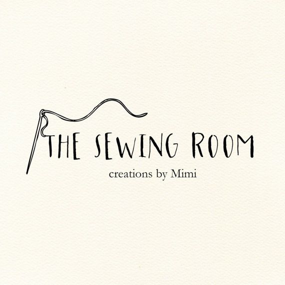 sewing logo small business logo craft logo