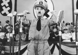 Charles Chaplin - el gran dictador - contrapicado