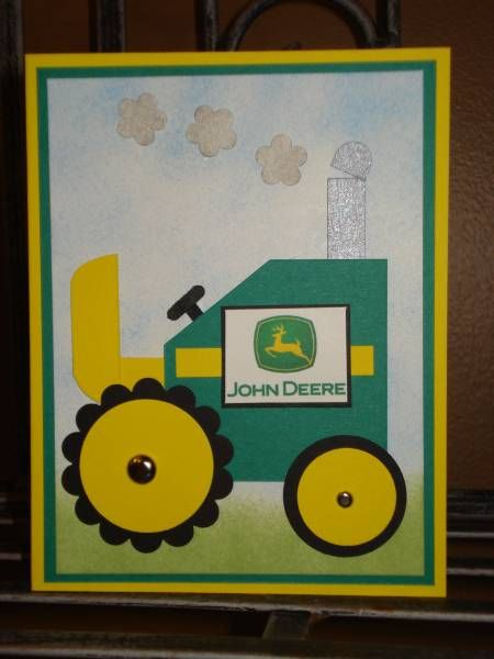 John Deere Tractor by megala3178 - Cards and Paper Crafts at Splitcoaststampers