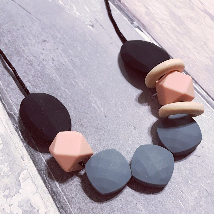 A personal favourite from my Etsy shop https://www.etsy.com/uk/listing/521177309/silicone-teething-nursing-necklace-suzie