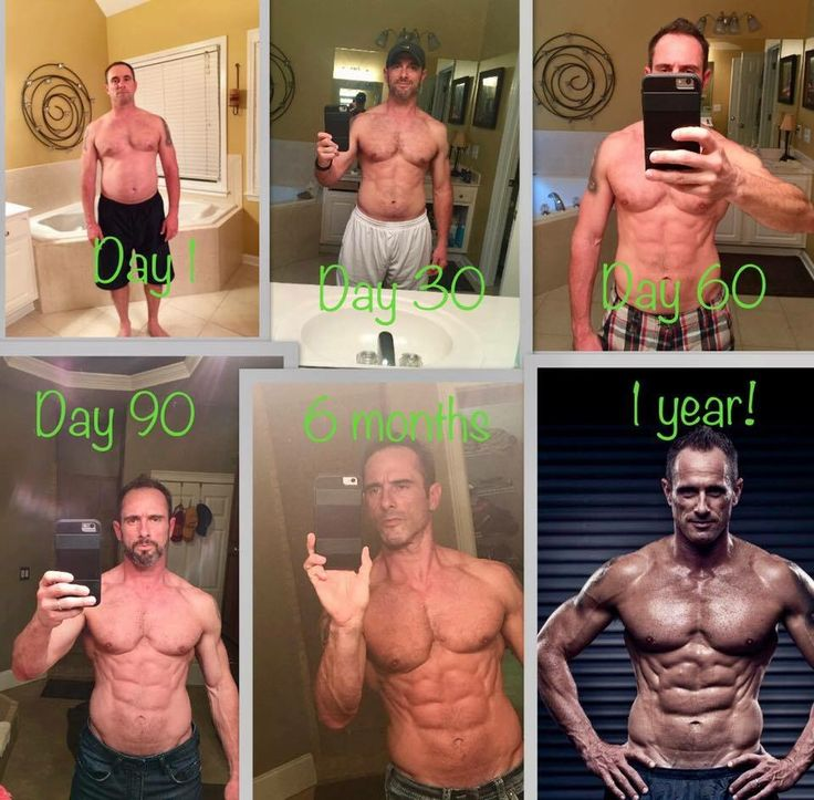 Who says systems are just for women?? No way. Lean muscle HAPPENS here! Eric is proof!