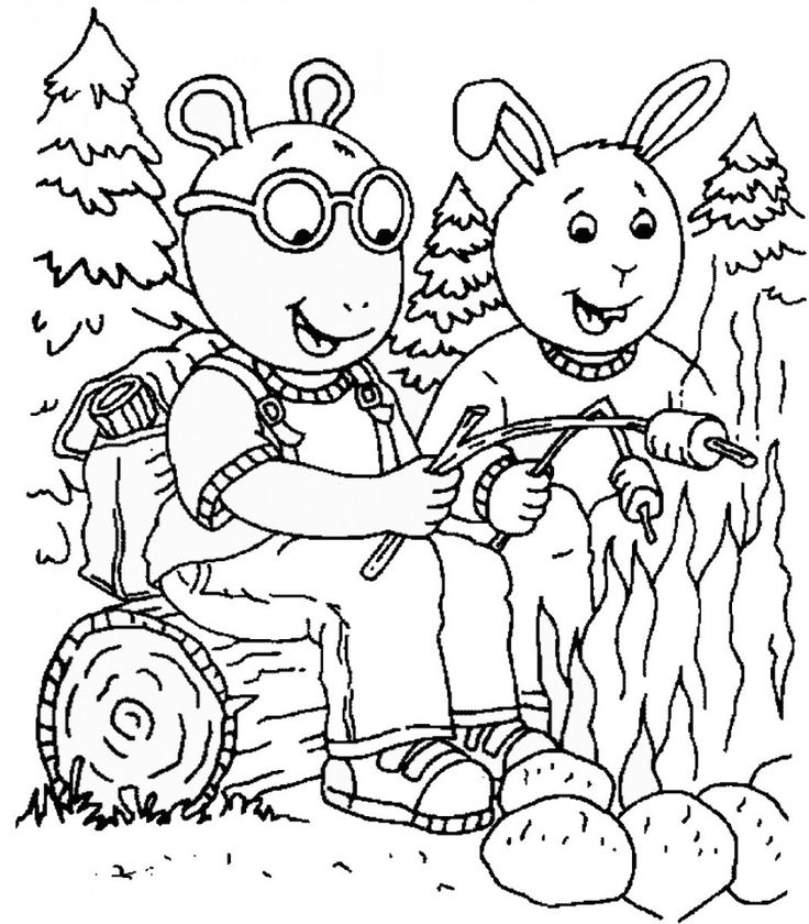 10 best Arthur images on Pinterest Coloring pages Coloring sheets