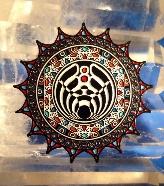 a0fa64a9d18 Bassnectar Awaken Lapel Hat Pins Numbered 1200 by MongoArts