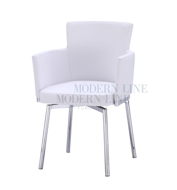 Unique White Leather Dining Chair with Swivel Base - Best 25+ White Leather Dining Chairs Ideas On Pinterest