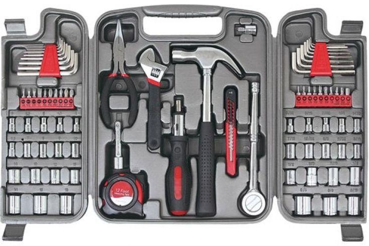 Apollo Precision Tools 79-Piece Multi-Purpose Tool Kit Household Mechanical