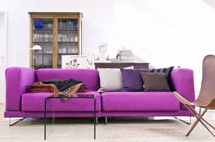 53 best Purple and Pink sofa images on Pinterest | Pink couch, Hot ...