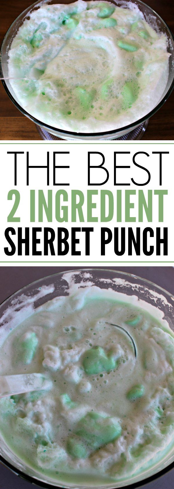 Try this quick and easy sherbet punch recipe. It is the best party punch recipe. Just 2 ingredients is all you need for the best sherbert punch.
