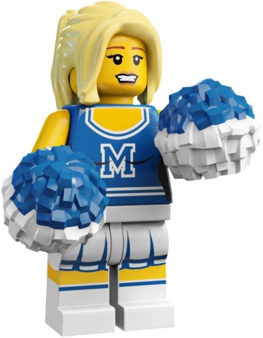 Lego Minifigures - Cheerleader                                                                                                                                                     Mais