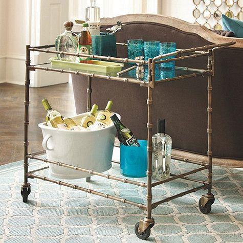 ballard designs bar cart woodworking projects plans