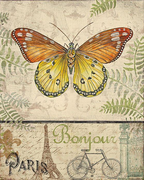 mariposa acuarelada