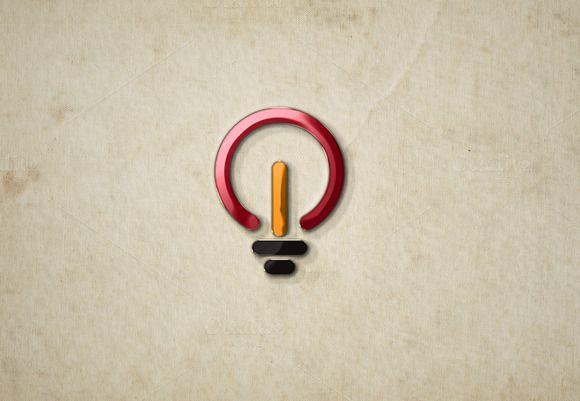 Play Lamp Logo by wopras on Creative Market