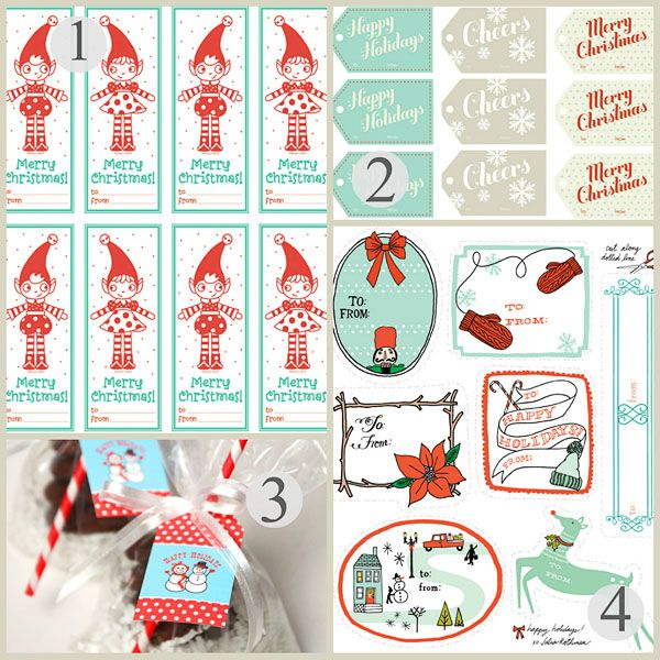 64 best printable christmas gift tags images on pinterest free free printable christmas gift tags negle Gallery