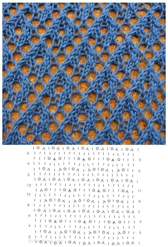 open diamonds lace