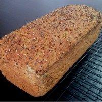 Pão sem glúten de sorgo, teff e batata doce
