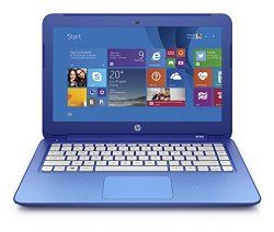 HP Stream 13.3 Inch Laptop Intel Celeron 2 GB 32 GB SSD Horizon Blue Includes Office 365 Personal for One Year Price : $228.45