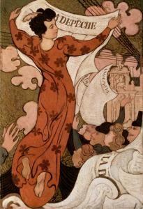 La Depeche de Toulouse - Maurice Denis - The Athenaeum