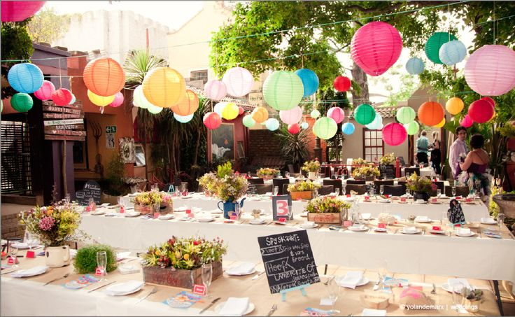 Duncan Yard in Pretoria. Pappas Restaurant also serves as a wedding venue for smaller, intimate weddings in a quaint outdoor, courtyard atmosphere...Shot by Yolande Marx Photography