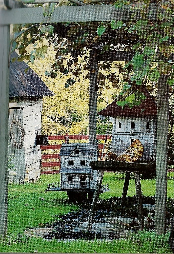 1800s Country Homes: 129 Best Images About Antique Birdhouses & Doll Houses On