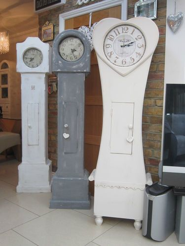 Grandfather Clock Shabby Chic