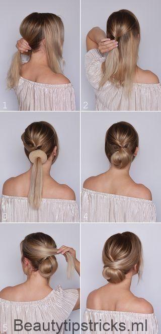 Hairstyling: Ein festliches Brötchen für den Abschluss