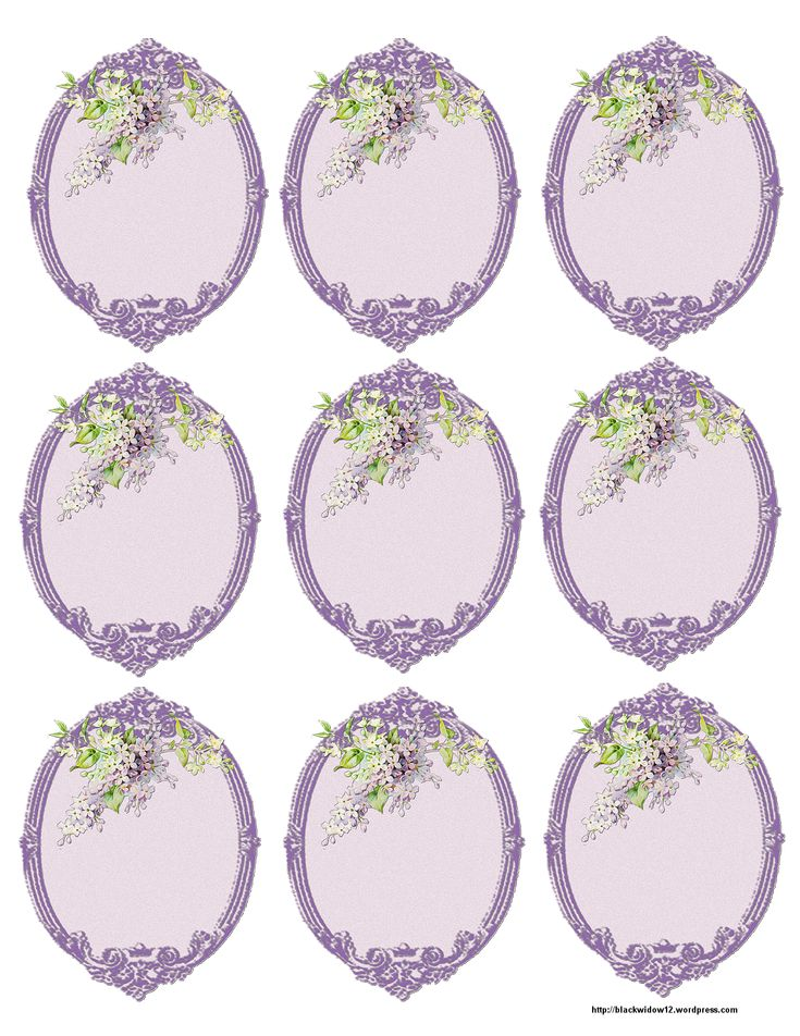 Paper Crafts – Vintage Pieces for Collage/Altered Art – Lilac