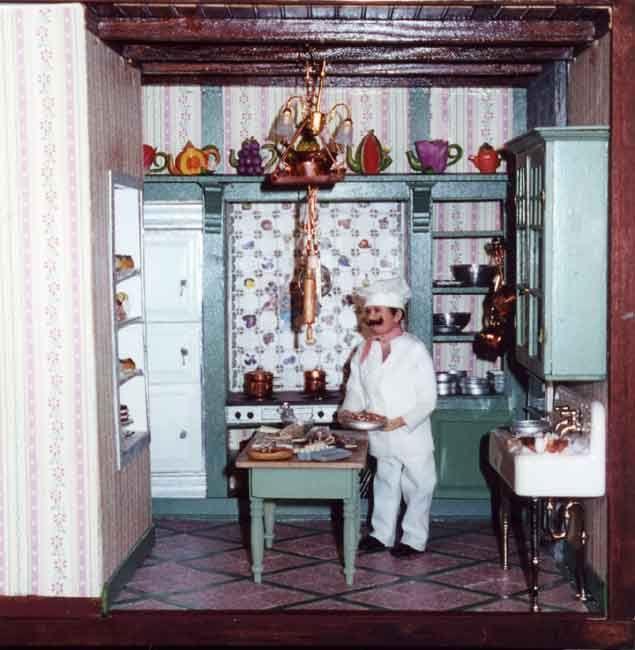 225 Best The Miniature Kitchen Images On Pinterest