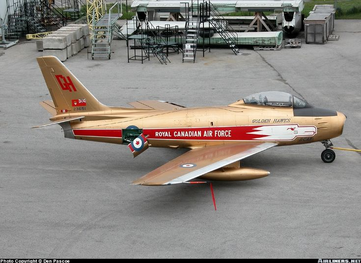 Canadair CL-13B Sabre 6 aircraft picture