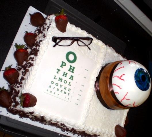 Cake Decoration Eyes : 10 best images about Eye Care cake ideas on Pinterest ...