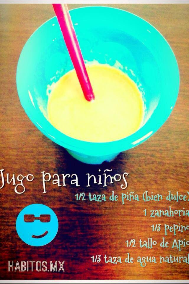 jugo para niños! :)