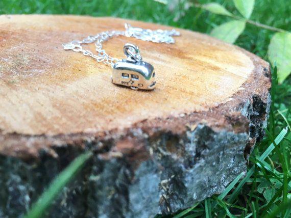 Caravan necklace campervan necklace by Charlotte Farr Bridal on Etsy