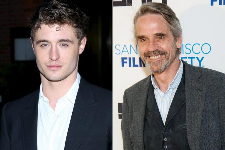 MAX IRONS AND JEREMY IRONS