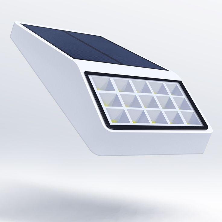 15 LED Solar Lamp Optional Microwave Motion Sensor +Dim Light+Light Control and 100% 60% 30%  Constant light Outside Garden Wall #Affiliate
