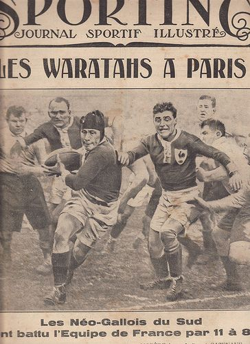 Wow 1928 in Paris Waratahs v French