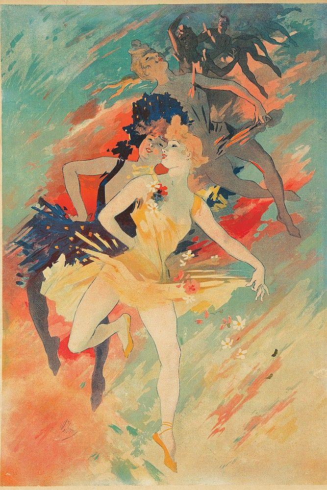 Les Arts 1891. Jures Cheret.