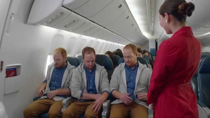 """This is another airline safety video that is awesome. It seems that the airlines are finally realizing that the only way to get people to watch their mandatory safety videos is to make them entertaining. This one is the kind of humor that made films like """"Airplane"""" so popular because there is a joke somewhere in every sequence."""