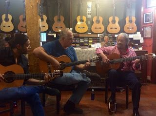 Tienda Ramírez: TRAS LA TERTULIA DE SERRANITO Y GAMBOA