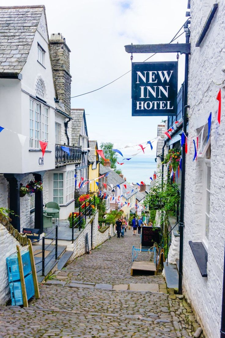 New Inn Hotel, Clovelly: is this the prettiest village in Devon, England, UK?