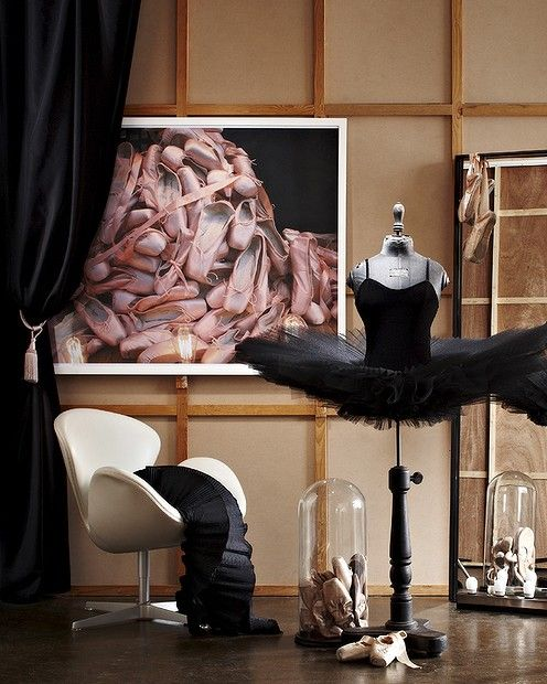 Dance studio. Styled by Heather Nette King.