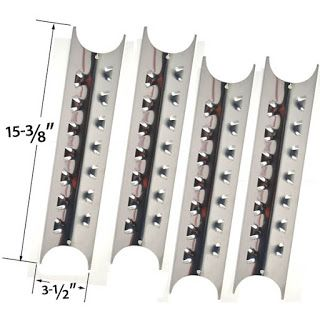 Grillpartszone- Grill Parts Store Canada - Get BBQ Parts, Grill Parts Canada: Master Forge Heat Plate   Replacement 4 Pack Stain...