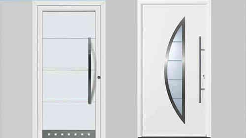 Desain pintu depan putih minimalis Hormann Thermopro « MRD #desainpintu #modelpintu #pintu #pintuutama