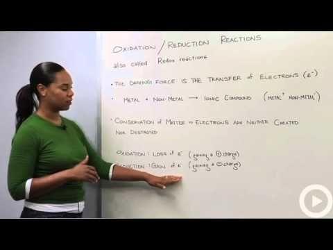 Reduction vs oxidation organic chemistry