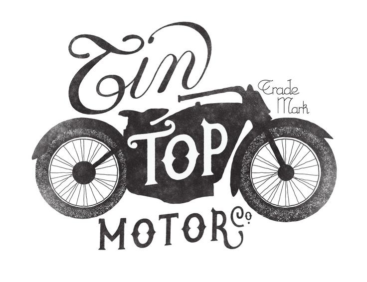 Tin Top Motor Co.Vintage Designs, Graphics Design Inspiration, Vintage Wardrobe, Neil Tasker, Tins Tops, Hands Letters, Tops Motors, Graphic Design Inspiration, Typography