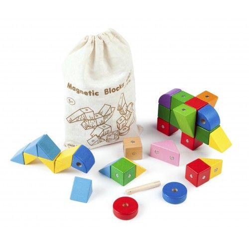 Mágneses építő kockák minőségi építő játék (20931)