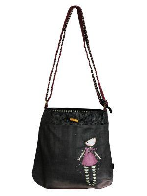 Santoro Gorjuss Fairy Lights Wool Sling Bag
