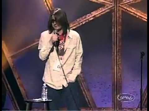 The Ultimate Mitch Hedberg Compliation - YouTube.  10:00 minute mark!  Actually a lot of it is really funny, but remember the language aspect.
