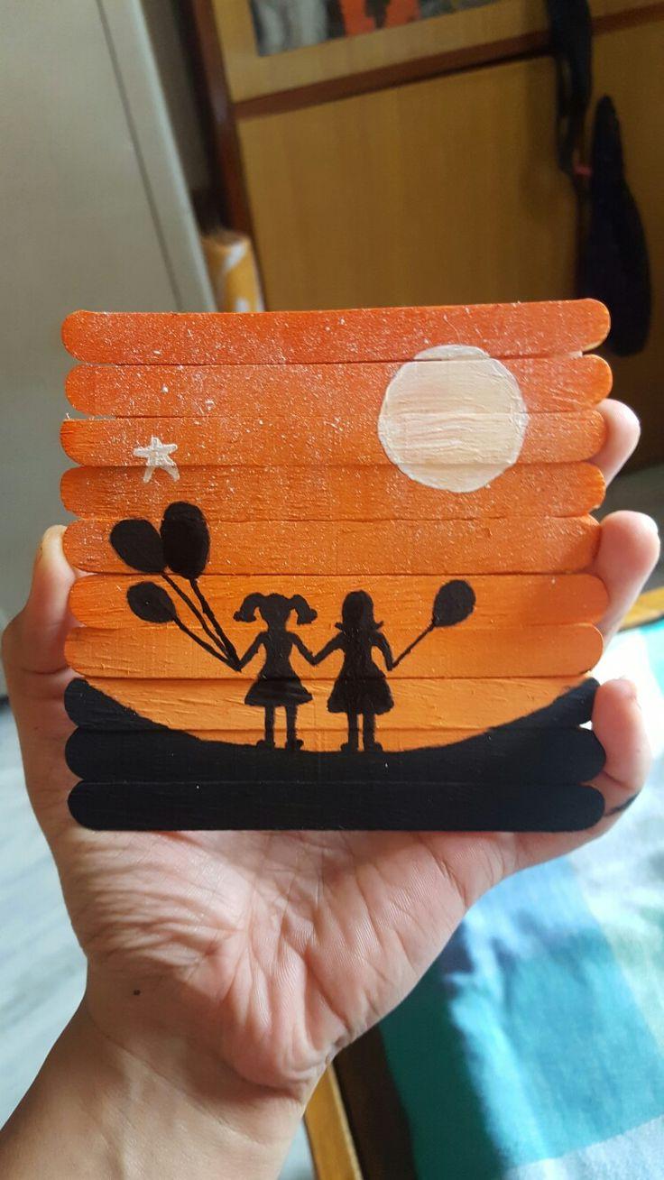 Painting Wood Crafts Diy
