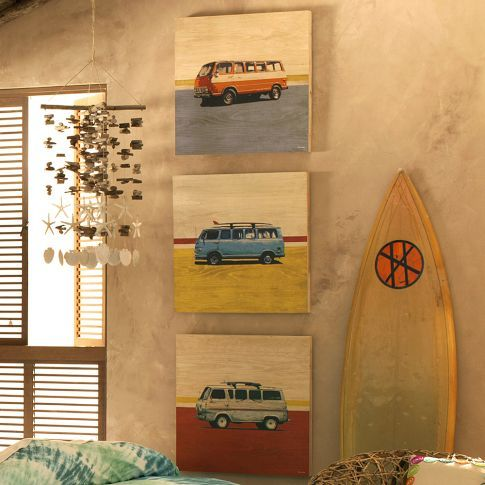 this week we're loving surf inspired art by Sean Finnochio!: Art Sets, Surfing Shack Bedrooms, Finocchio Wood, Wood Surfing, Boys Rooms, Art Ideas, Surfing Art, Rooms Ideas, Surfing Vans