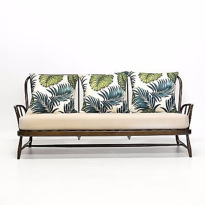 Vintage Ercol Jubilee Sofa in Palm & Cream in Home, Furniture & DIY, Furniture, Sofas, Armchairs & Suites | eBay!